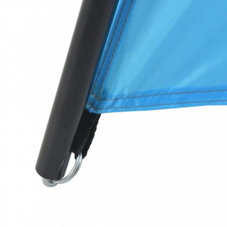 Cort de piscină, albastru, 500 x 433 x 250 cm, țesătură