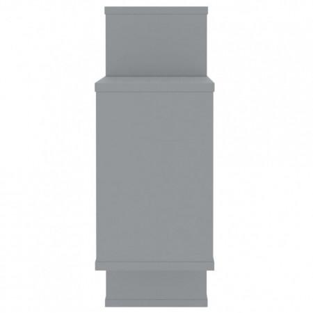 Rafturi de perete, gri, 104 x 24 x 60 cm, PAL