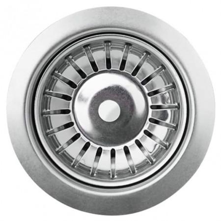 Chiuvetă de bucătărie din granit, cu un bazin, rotund Gri