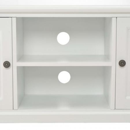 Comodă TV, alb, 120 x 30 x 40 cm, lemn
