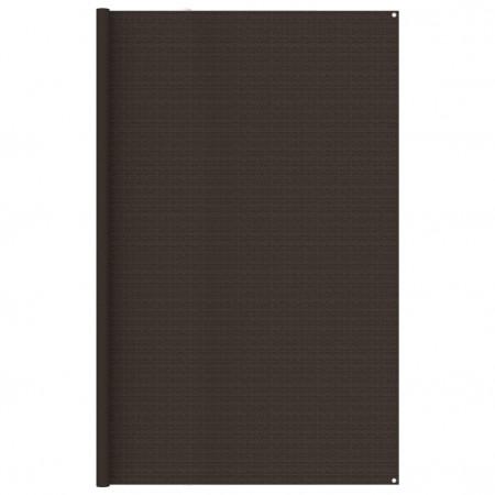Covor pentru cort, maro, 300x600 cm