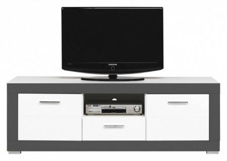 Gray gr-1 white mat-graphite comoda tv
