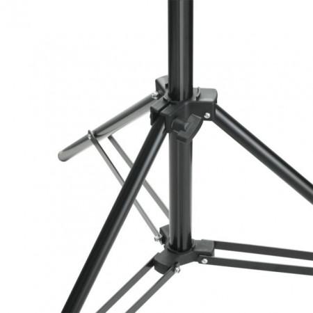 Sistem de suport fundal, 500 x 300 cm, negru