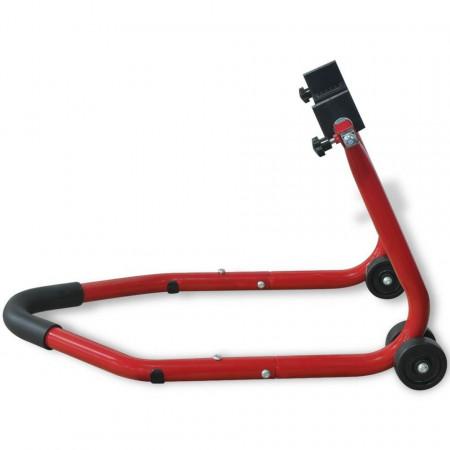 Suport roată spate pentru motocicletă, roșu