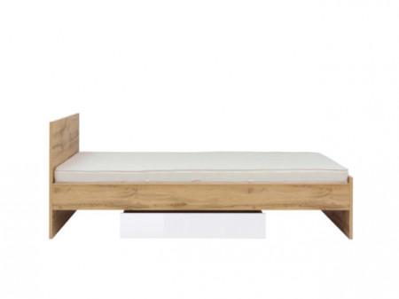 ZLATA 012 BED 90 LOZ/90 OAK tahoe/WHITE