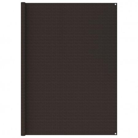 Covor cort, maro, 250x400 cm