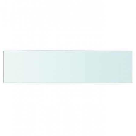 Raft din sticlă transparentă, 60 x 15 cm