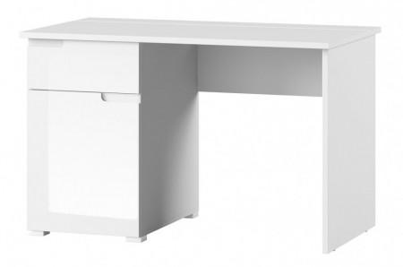 Selene 14 (birou) white high gloss/white