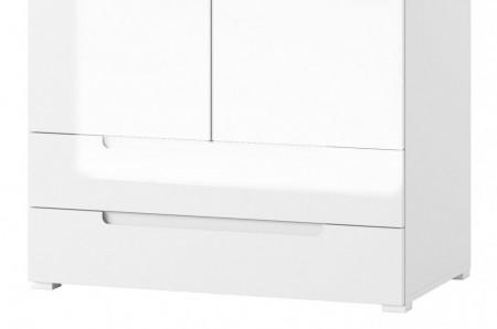 Selene 28 (dulap) white high gloss/white