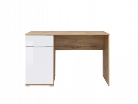 ZLATA 004 DESK BIU/120 OAK tahoe/WHITE