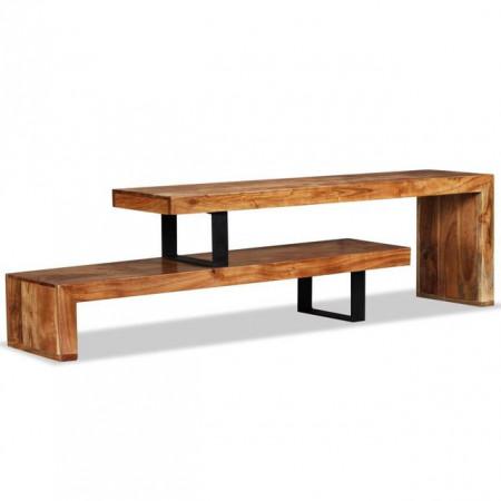 Comoda TV, lemn masiv de acacia