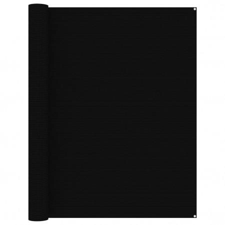 Covor pentru cort, negru, 250x500 cm