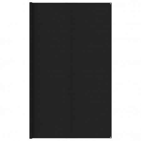 Covor pentru cort, negru, 400x500 cm
