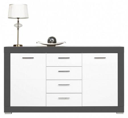Gray gr-3 white mat-graphite comoda