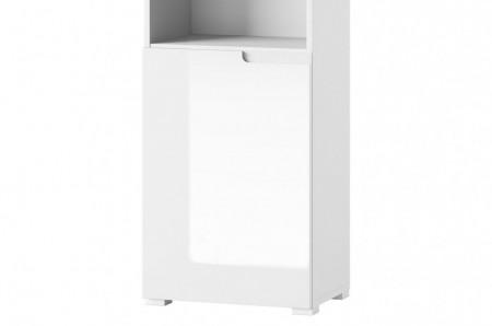 Selene 12 (biblioteca) white high gloss/white