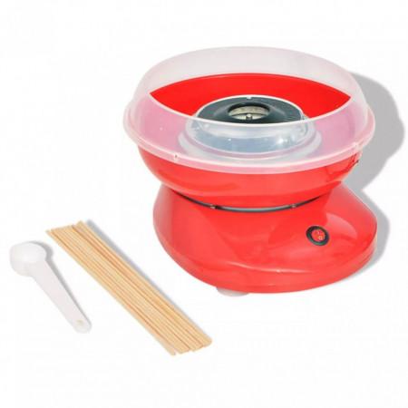 Mașină vată de zahăr 480 W roșie