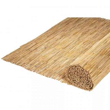 Nature Panou de grădină, 500 x 150 cm, stuf de bambus, 6050126