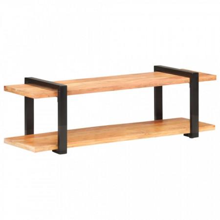 Comodă TV, 130 x 40 x 40 cm, lemn masiv de acacia