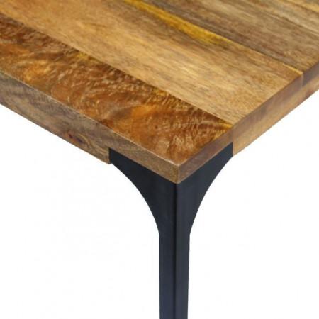 Masă de cafea din lemn de mango, 100 x 60 x 35 cm