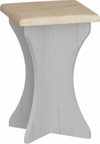 ZKU-04 (STOOL) MONACO/CRAFT WHITE