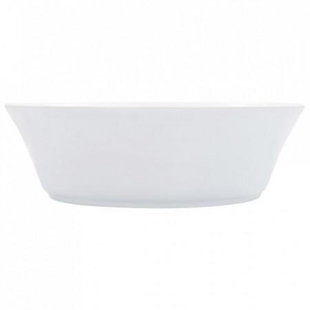 Chiuvetă de baie, alb, 41x12,5 cm, ceramică