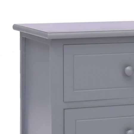 Comodă TV, gri închis, 115 x 30 x 40 cm, lemn