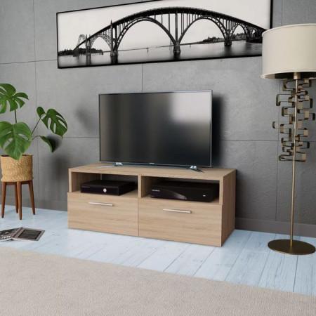 Comodă TV, PAL, 95 x 35 x 36 cm, culoarea stejarului