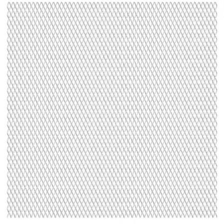 Panou plasă sârmă, oțel inoxidabil, 50x50 cm, 20x10x2 mm