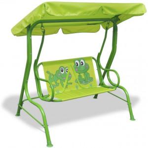 Leagăn pentru copii, verde