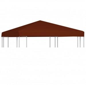 Acoperiș pentru pavilion, 3 x 3 m, cărămiziu, 310 g/m²