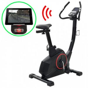 Bicicletă de fitness magnetică cu măsurare puls, programabilă