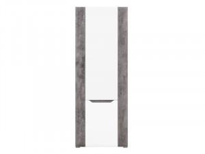 Brando b6 comoda l/p white/beton/white high gloss