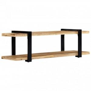 Comodă TV, 130 x 40 x 40 cm, lemn masiv de mango