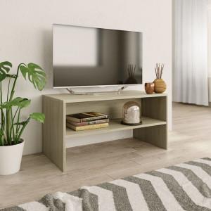 Comodă TV, stejar Sonoma, 80x40x40 cm, PAL