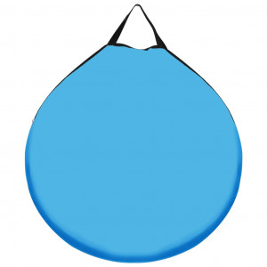 Cort de duș pop-up, albastru