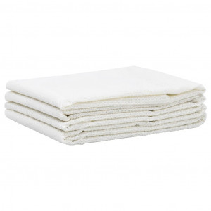 Covor pentru cort, alb, 100x1000 cm