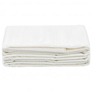 Covor pentru cort, alb, 100x500 cm