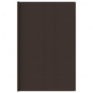 Covor pentru cort, maro, 400x600 cm