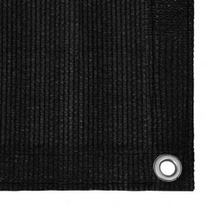 Covor pentru cort, negru, 250x550 cm