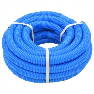 Furtun de piscină, albastru, 38 mm, 12 m