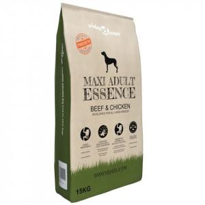 Hrană câini uscată Premium Maxi Adult Essence, vită & pui 15 kg