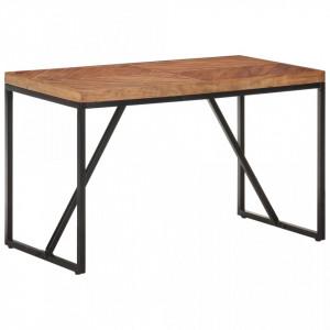 Masă de bucătărie 120x60x76 cm lemn masiv de acacia/mango