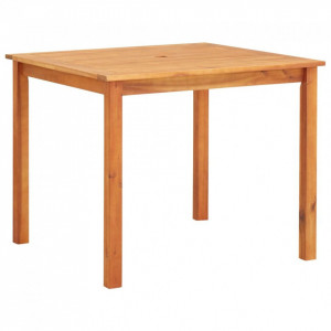 Masă de grădină, 90 x 90 x 74 cm, lemn masiv de acacia