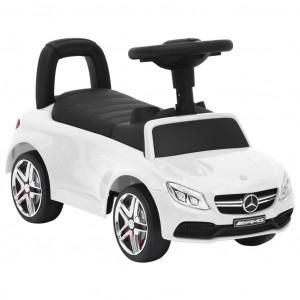 Mașinuță pentru pași Mercedes-Benz C63, alb