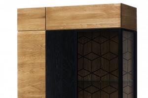 Mosaic 12 (vitrina) honey oak
