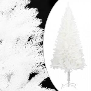 Pom de Crăciun artificial cu suport, alb, 150 cm, PE