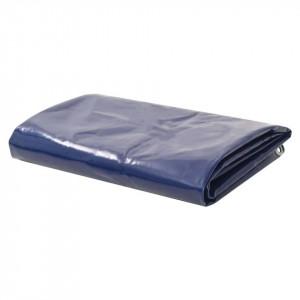 Prelată, albastru, 3,5 x 5 m, 650 g/m²