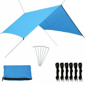 Prelată de exterior, albastru, 3 x 2,85 m
