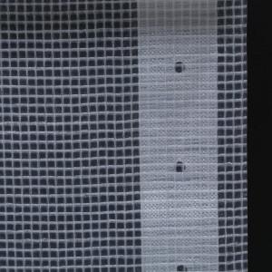 Prelată Leno 260 g/m², alb, 1,5 x 10 m