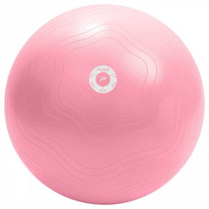 Pure2Improve Minge de fitness, roz, 65 cm